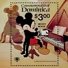 Stamps      with the theme Disney     '