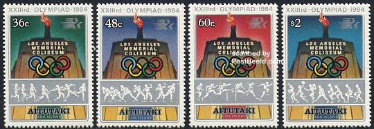 Olympic Games Los Angeles 4v
