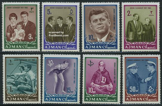 J.F. Kennedy 8v