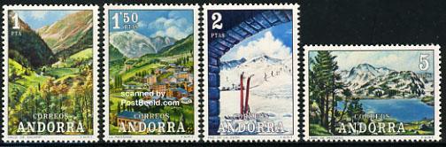 Definitives, tourism 4v