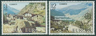 Europa CEPT, landscapes 2v