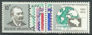 Stamp dealers association 1v+tab