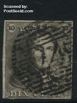 10c, greybrown, used