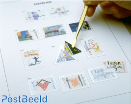 Luxe stamp album content Netherlands Sheets II 2007-2014