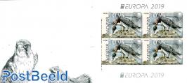 Europa, birds booklet