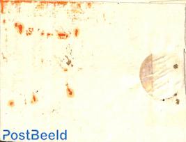 Folding letter from HEERENVEEN to Schiedam