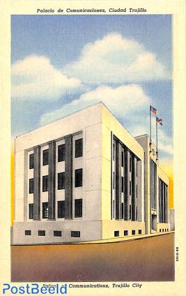 Illustrated Postcard 9c, unused with postmark