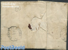 Folding letter from Nyon with NYON mark