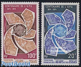 U.P.U. centenary 2v