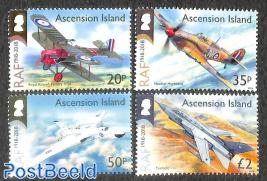 RAF centenary 4v