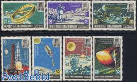 Lunar space flights 7v