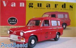 Vanguards Ford Anglia Royal Mail 1:43