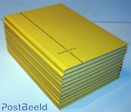10 x Stockbook 8 pages Yelling Yellow
