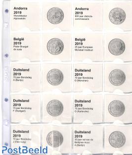 Collectio 2 euro supplement 2019