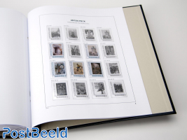 Luxe sheets Netherlands Press. Stamps Anton Pieck 2012