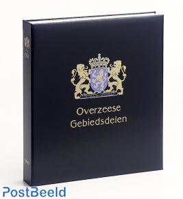 Luxe binder stamp album Ned. Overseas Territories. VI