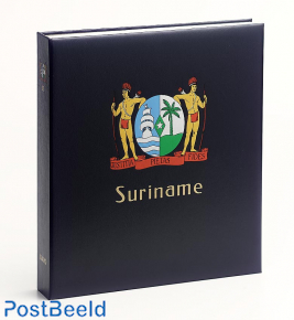 Luxe stamp album Suriname III Rep. 2007-2018