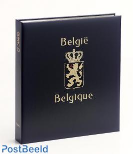 Luxe binder stamp album Belgium VIII