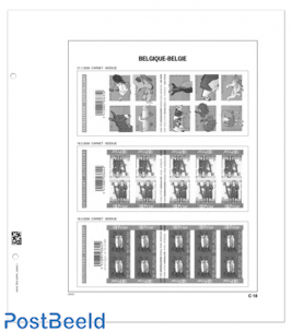 Luxe sheets Belgium Booklets CN 1-20