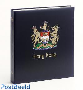 Luxe stamp album binder Hong Kong (GB) III