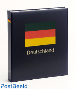 Luxe binder stamp album Germany united (Without Number)
