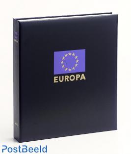 Luxe binder stamp album Europe IX