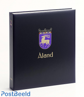 Luxe binder stamp album Aland (Without Number)