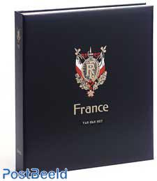 Luxe binder stamp album France Red Cross II