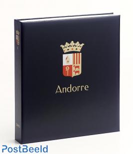 Luxe binder stamp album Andorra (French / Spanish) II