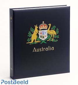 Luxe stamp album Australia II 1966-1985