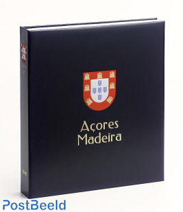 Luxe binder stamp album Azores / Madeira ((Without Number)