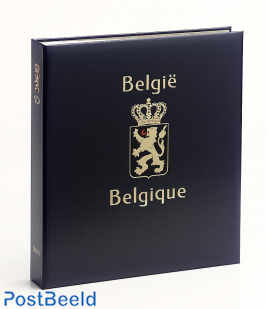 Luxe binder stamp album Belgium I
