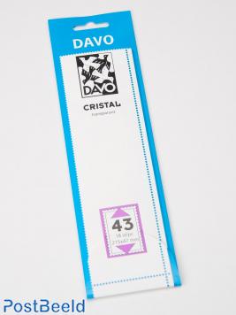 Cristal protector mounts C43 (215 x 47) 18 pcs