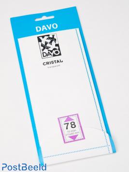Cristal protector mounts C78 (215 x 82) 10 pcs