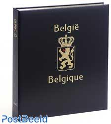 Luxe stamp album Belgium 20th Century 1999-2002