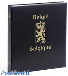 Luxe stamp album Belgium Souvenir Cards