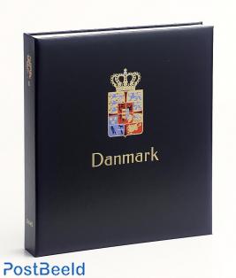 Luxe stamp album Denmark I 1851-1969