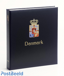Luxe binder stamp album Denmark (Without Number)
