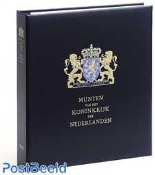 Luxe coin album Kon. Beatrix (b / w)