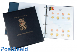 Luxe Euro coin album (Albert II)