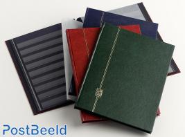 Stockbook Nero E Blue