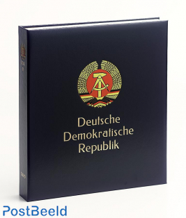 Luxe stamp album Germany DDR 1986-1990 V