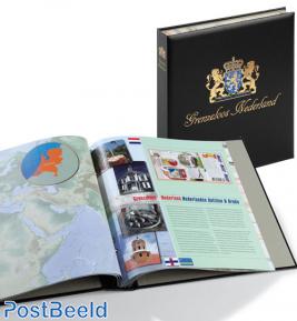 Luxe binder stamp album Netherlands Boundless Netherlands