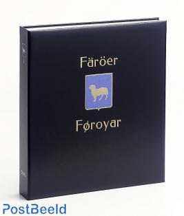 Luxe binder stamp album Faroer I