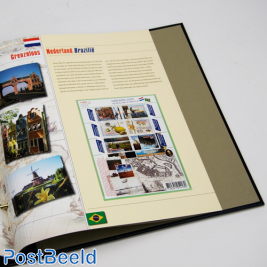 Luxe stamp album content Boundless Netherlands 2008-2016