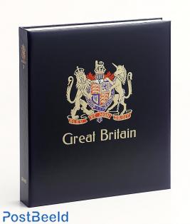 Luxe binder stamp album Gr.Britannie V