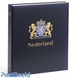 Luxe binder stamp album Netherlands Sheets I