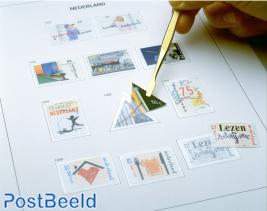 Luxe stamp album content Netherlands sheets III 2015-2018