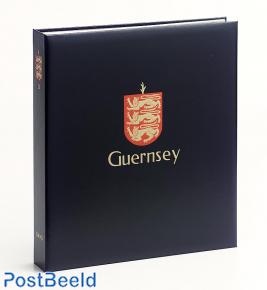 Luxe stamp album Guernsey I 1969-1999