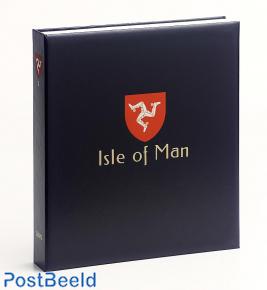 Luxe stamp album Isle of Man I 1973-1999